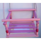 Rózsaszín-Lila Fa Bogyós Hinta
