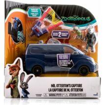 Zootropolis - Állati Nagy Balhé Farkasok kék teherautója