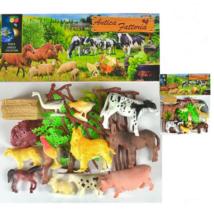World Animals Collection Farmon Élő Állatos Figurák