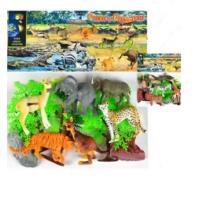 World Animals Collection Szafari Műanyag Állat Figurák