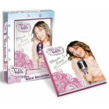 Violetta hangfelvevős napló