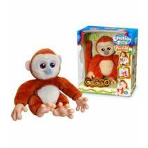Cocco interaktív plüss majom