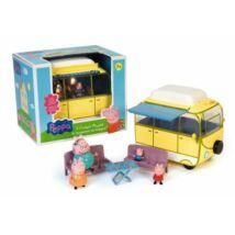 Peppa malac: Lakókocsi figurával