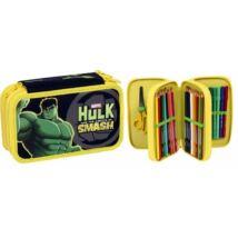 Hulk 3 emeletes töltött tolltartó