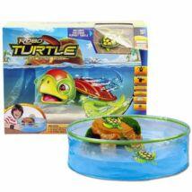Robo turtle robot teknős akváriummal