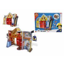 Sam a tűzoltó: Tűzoltóállomás játékszett, hang-és fényeffektes