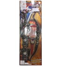 Lovagi Játék Fegyver Szett -  Kard, Íj, 3 db Nyíl és Csuklóvédő