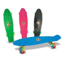 Penny board gördeszka, világító led-es kerékkel