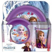 Frozen II Műanyag Étkészlet