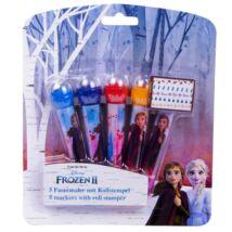 Frozen II. 5 db-os Filctoll Készlet Nyomdázóval a Végén