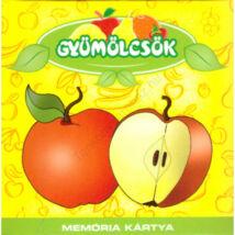 Memória Kártya: Gyümölcsök