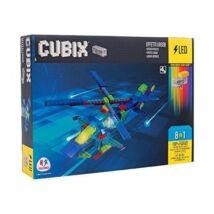 Cubix LED-es Építőjáték - Helikopter