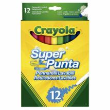 Crayola Kimosható Filctoll 12 db-os