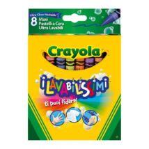 Crayola Kimosható Zsírkréta 8 db-os