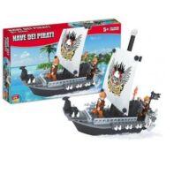 Fekete Kalóz Hajó Építőjáték