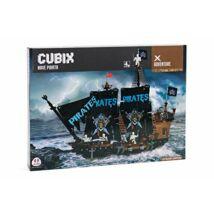 Cubix Építőjáték: Kalózhajó