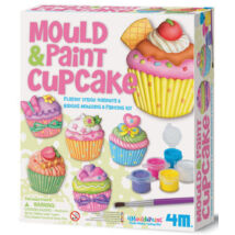4 M Muffin Hűtőmágnes Készítő Szett