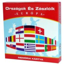 Memória Kártya: Országok és Zászlók