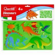 Dinoszauruszos Rajzsablon Készlet