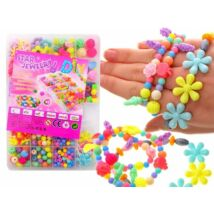 Star Jewelry Gyöngyfűző Készlet Tárolódobozban