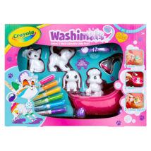 Washimals: 4 Állatkával és Fürdető Káddal