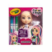 Crayola Colour N Style Friends: Lavender