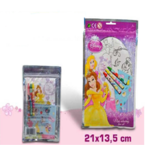 Disney Hercegnős Mini Színező Készlet