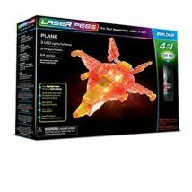 Laser Pegs LED-es építőtőjáték - Repülő