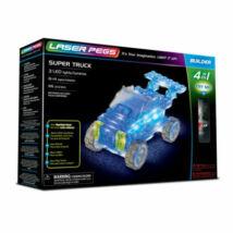 Laser Pegs LED-es építőtőjáték - Autó