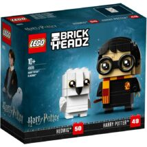 LEGO® Brick Headz Harry Potter 41615 - Harry Potter és Hedvig