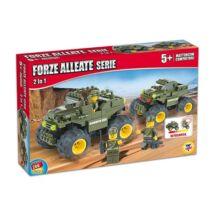 Katonai járművek Építőjáték