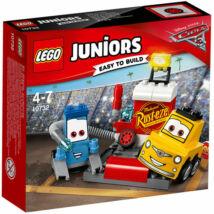 LEGO® Juniors 10732 Guido és Luigi boxutcája