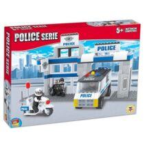 Rendőr Állomás Építőjáték