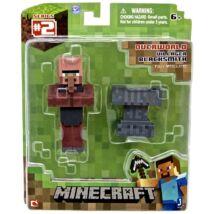 Minecraft: Villager Blacksmith figura kiegészítőkkel