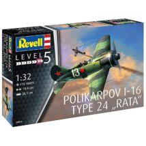 """Revell POLIKARPOV I-16 TYPE 24 """"RATA"""" 03914"""