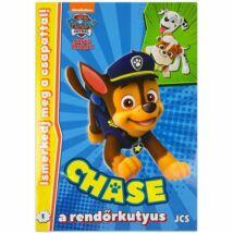 Mancs Őrjárat: Chase a Rendőrkutyus Foglalkoztató Füzet