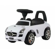 Baby Mix Mercedes-Benz SLS AMG bébitaxi Fehér