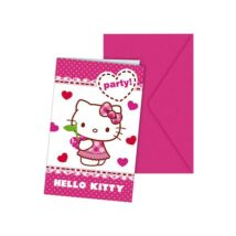 Hello Kitty Meghívó
