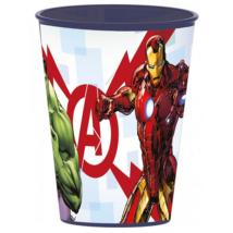 Avengers-es Műanyag Pohár