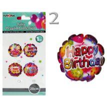 Happy Birthday Önfelfújó Fólialufi Többféle