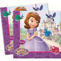 Disney Szófia Parti Szalvéta