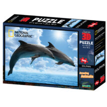 National Geographic 3D Puzzle: Delfinek 500 db