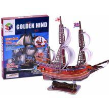3D-s Puzzle Golden Hind