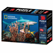 National Geographic 3D Puzzle: Zátonyi Cápa 500 db