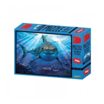 Prime 3D Nagy Fehér Cápás Puzzle