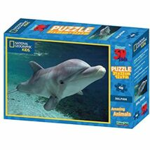 National Geographic 3D Puzzle: Delfin 48 db