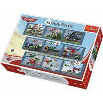 Trefl 3x Story Puzzle Planes