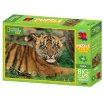 National Geographic 3D Puzzle: Tigris 48 db