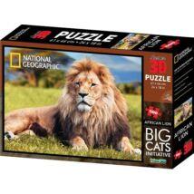National Geographic 3D Puzzle: Afrikai oroszlán 500 db