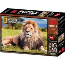 National Geographic 3D Puzzle: Afrikai oroszlán 500 db